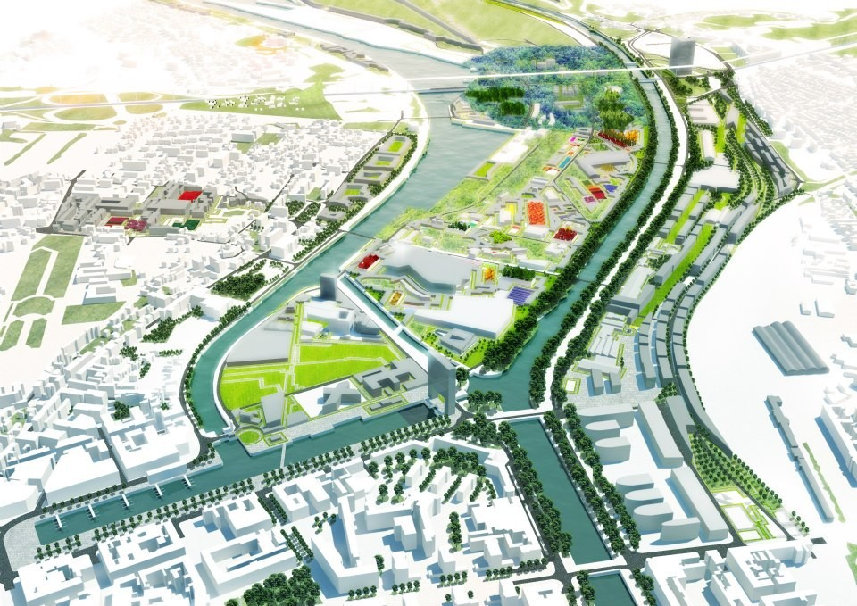 MVRDV Wins Competition to Redesign 600ha of Caen, © MVRDV