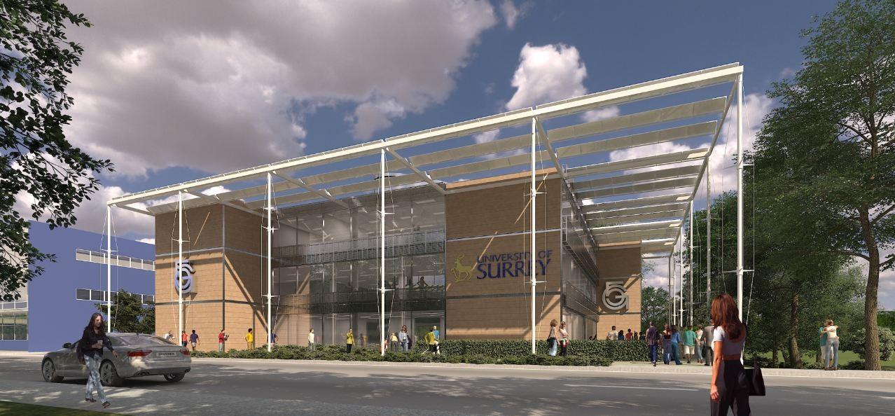 University of Surrey 5G Research Center Winning Proposal / Scott Tallon Walker Architects, Courtesy of Scott Tallon Walker Architects
