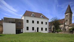 Rehabilitation of the Farmer Cure in a Nursery and Two Apartments / Y. Architectes