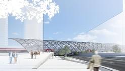 Elbbrücken Underground Station Winning Proposal / gmp Architekten