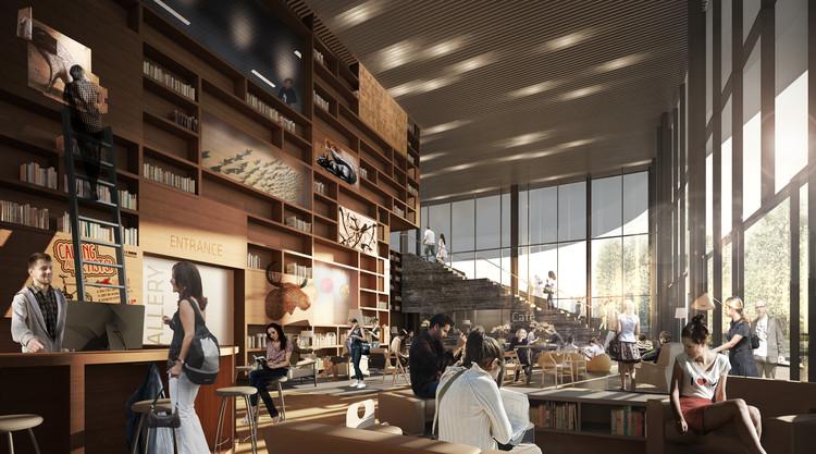 Proposta para o Museu de Arte da UC Davis / Henning Larsen Architects, Cortesia de Henning Larsen Architects