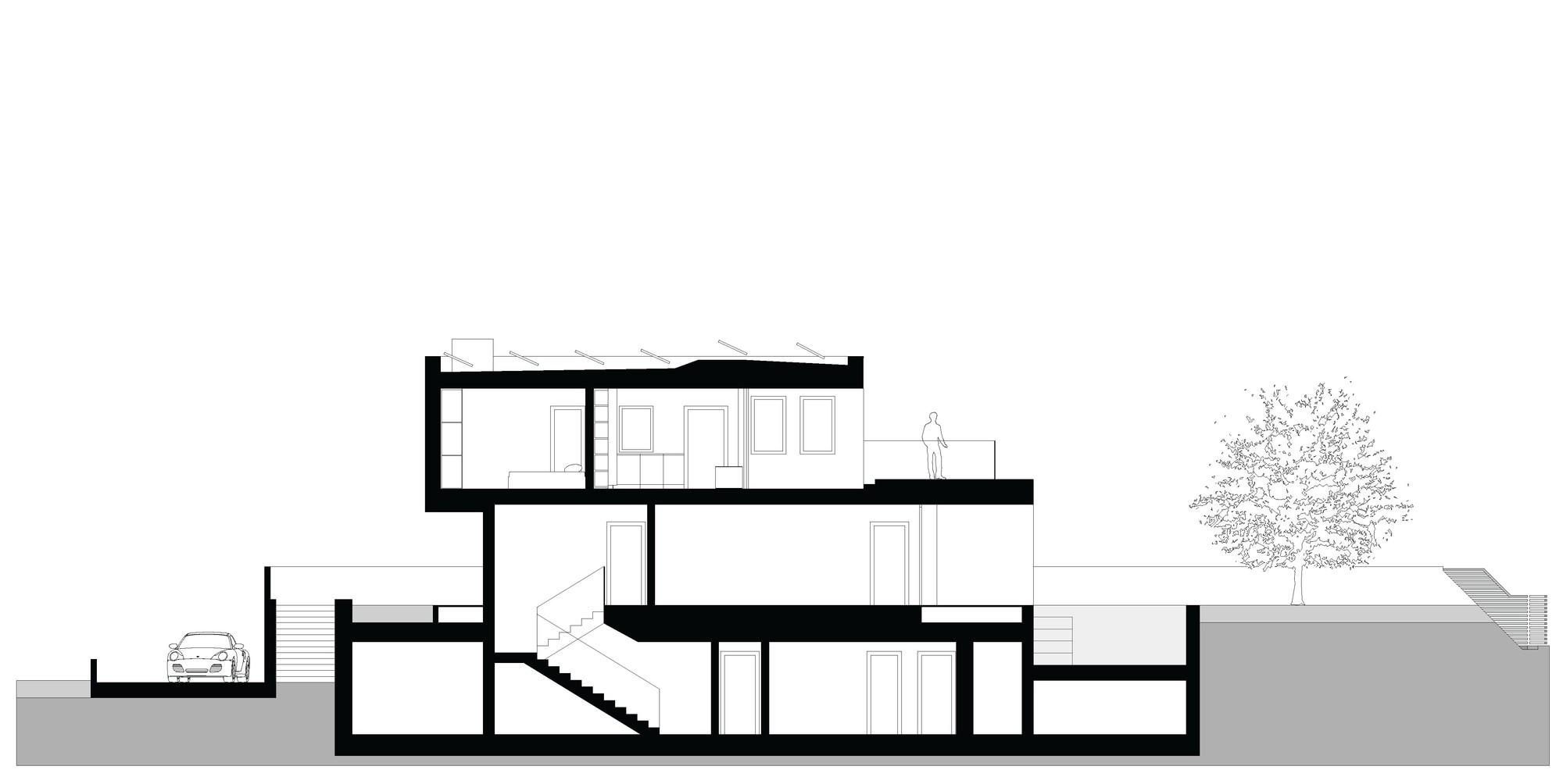 Gallery Of M2 House Monovolume Architecture Design 28