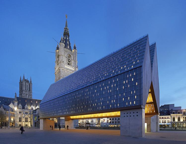 Mercado Municipal em Ghent / Marie-José Van Hee + Robbrecht & Daem, de Hufton + Crow, © Hufton + Crow