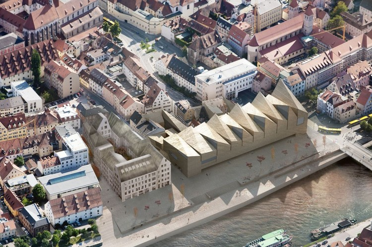 Bavarian History Museum Proposal / OODA + Menos é Mais Arquitectos, Courtesy of OODA + Menos é Mais Arquitectos