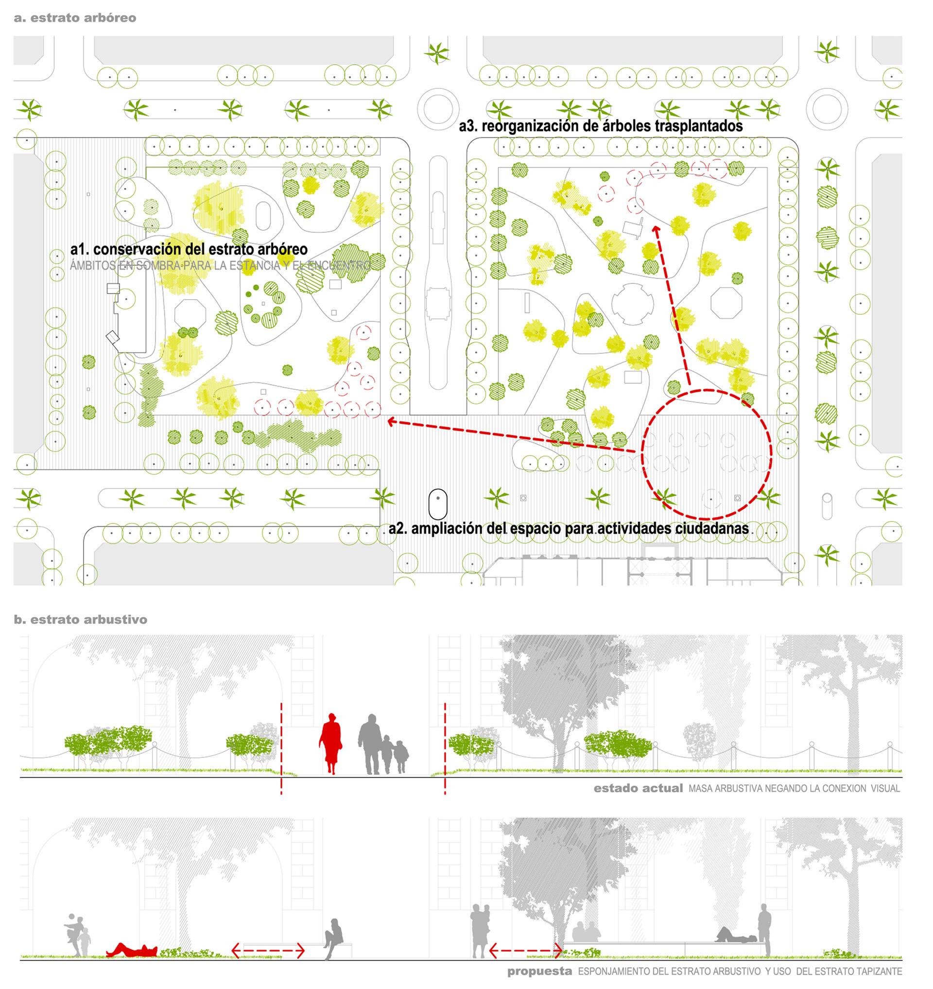 Galer A De Primer Lugar Concurso Plazas Mitre Y Alsina 13