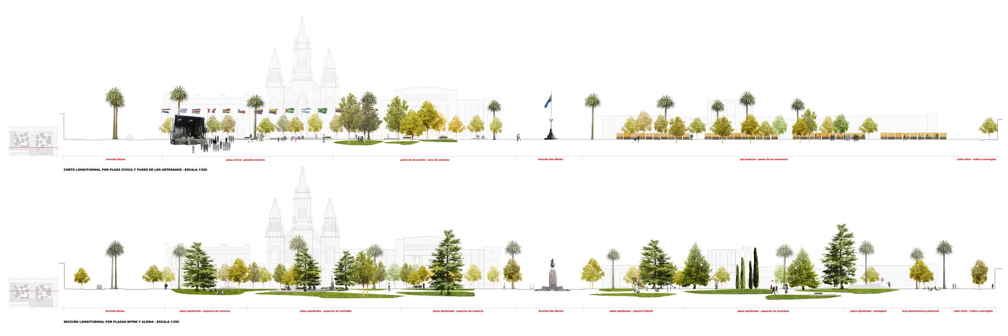 Galer A De Primer Lugar Concurso Plazas Mitre Y Alsina 16