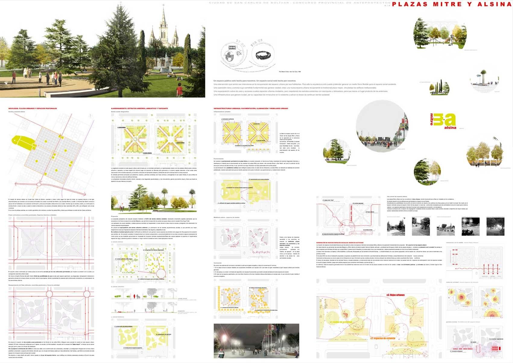 Galer A De Primer Lugar Concurso Plazas Mitre Y Alsina 18