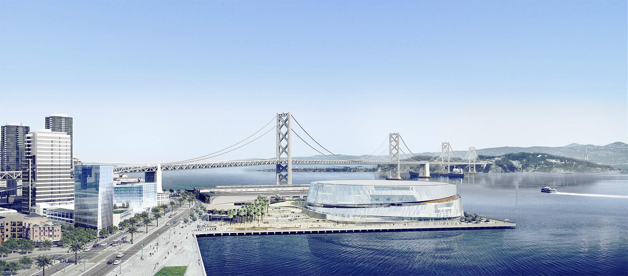 Gallery of Snøhetta Unveils Version 3.0 of San Francisco's Golden State Warriors' Stadium - 18