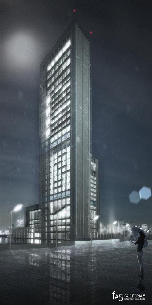 Visualizaci n en arquitectura factor a 5 studio - Caja arquitectos madrid ...