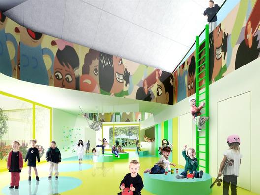 Design Kindergarten in Denmark (via openbuildings.com)