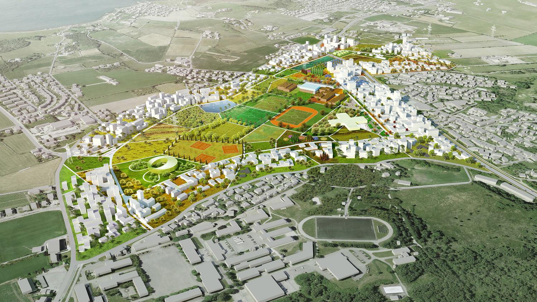 Madla-Revheim Masterplan Proposal / MVRDV + Space Group, © MVRDV + Space Group