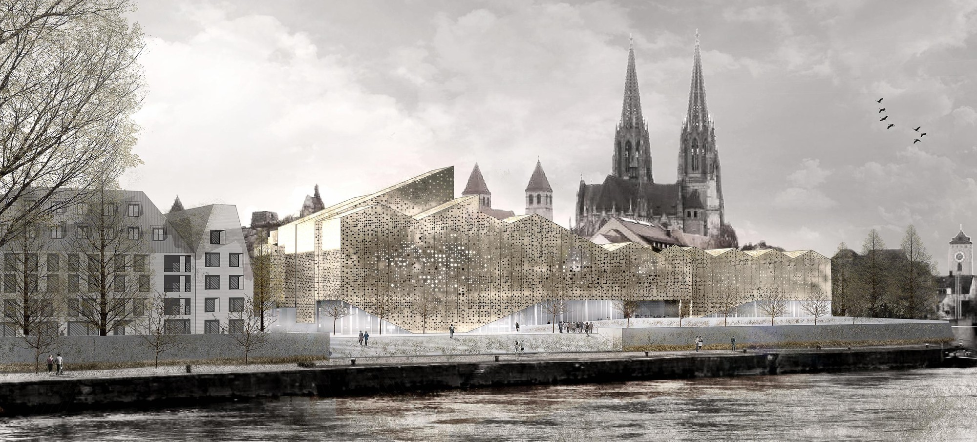 Bavarian History Museum Competition Entry / X+UN Architecture, Courtesy of X+UN Architecture