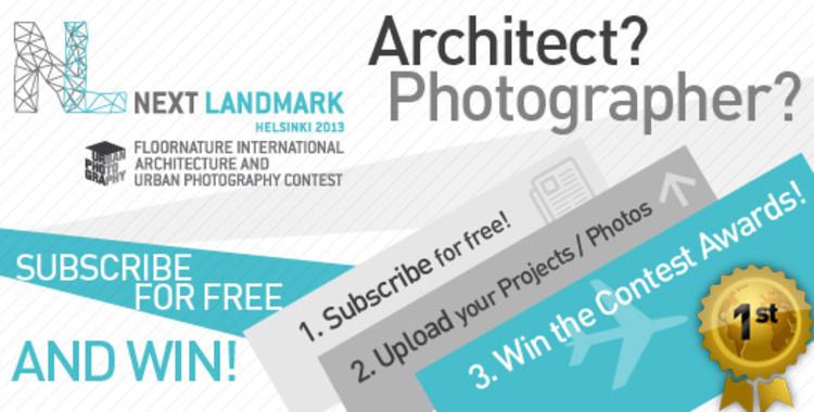"""Segunda edição do concurso NEXT LANDMARK, agora com a categoria """"Fotografia de Arquitetura"""""""