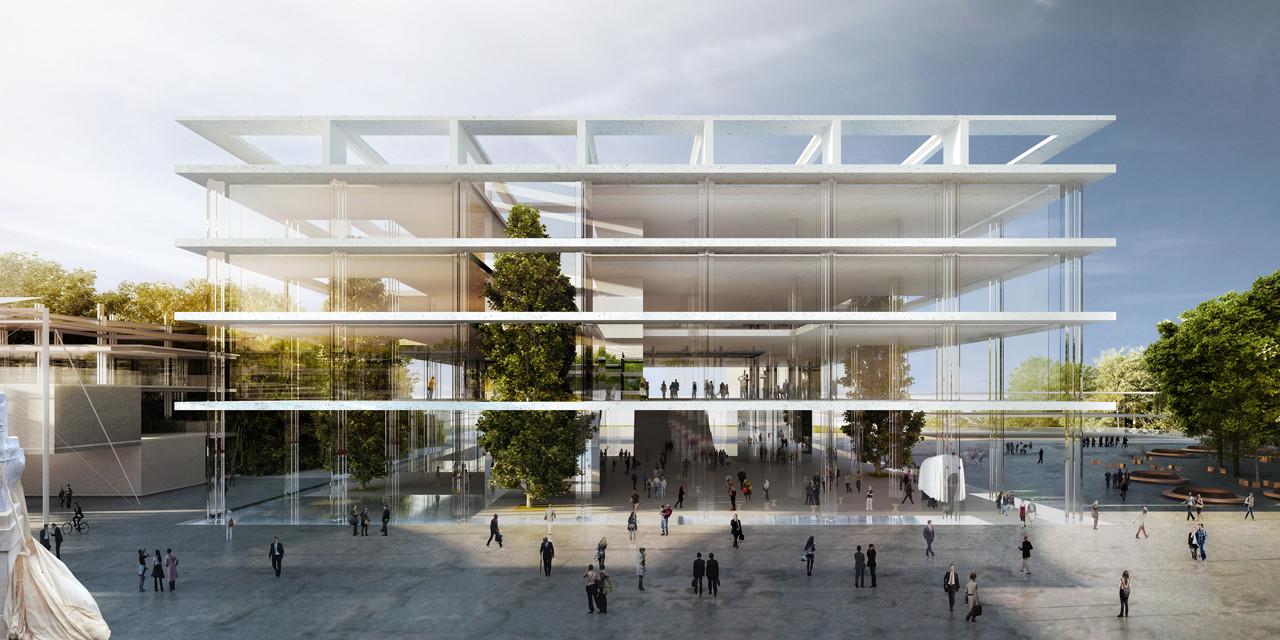 'The Slabs' - Italian Pavilion Expo 2015 Proposal / MenoMenoPiu Architects + BE.ST Architect, Courtesy of MenoMenoPiu Architects + BE.ST Architect