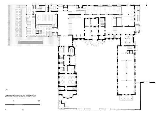 Ground Floor Plan © Foster + Partners