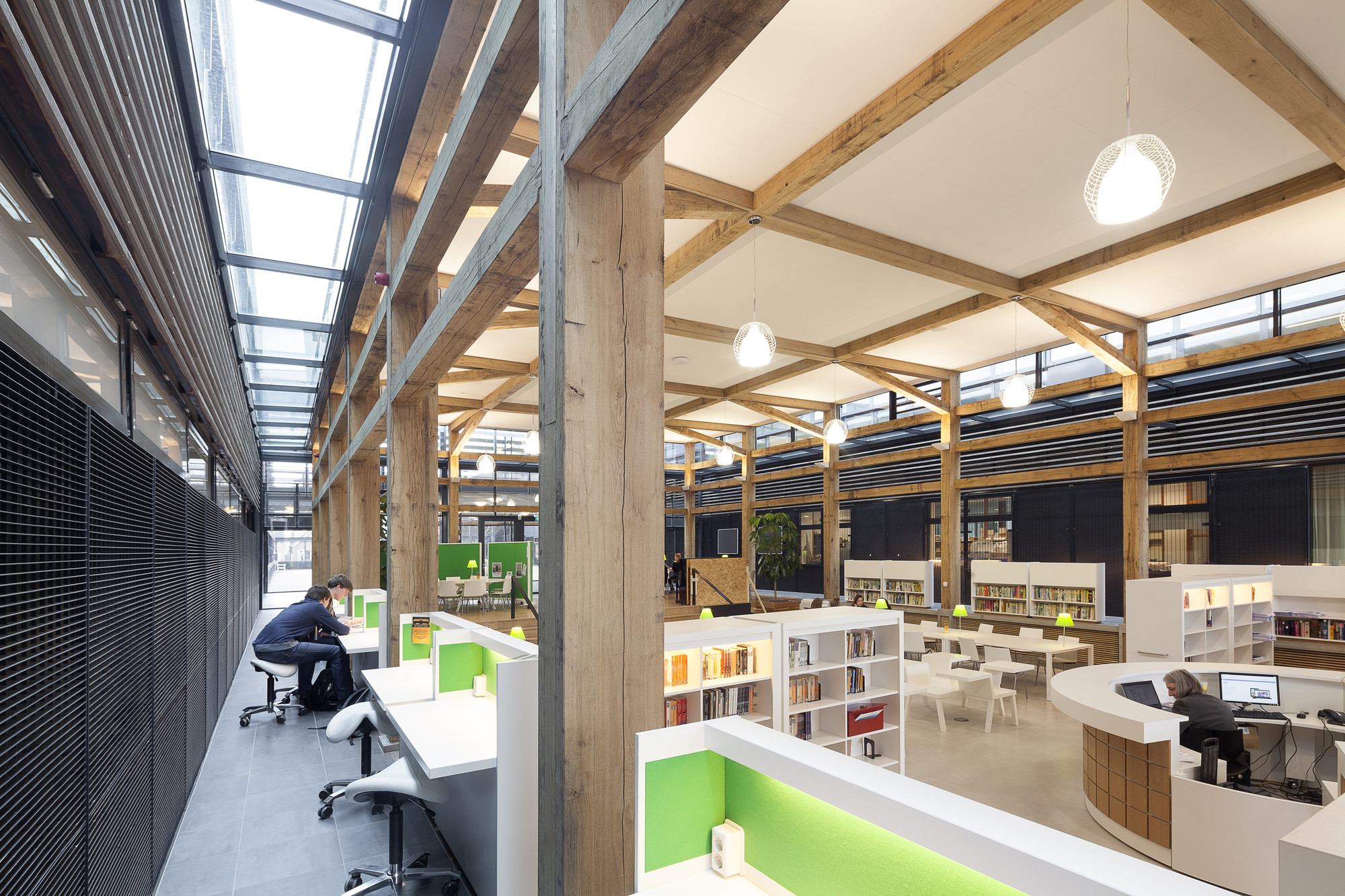 Media Library Drachten Adp Archtitects Archdaily