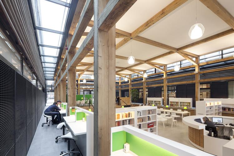 Biblioteca de Mídia Drachten / ADP Archtitects, © Gerard van Beek