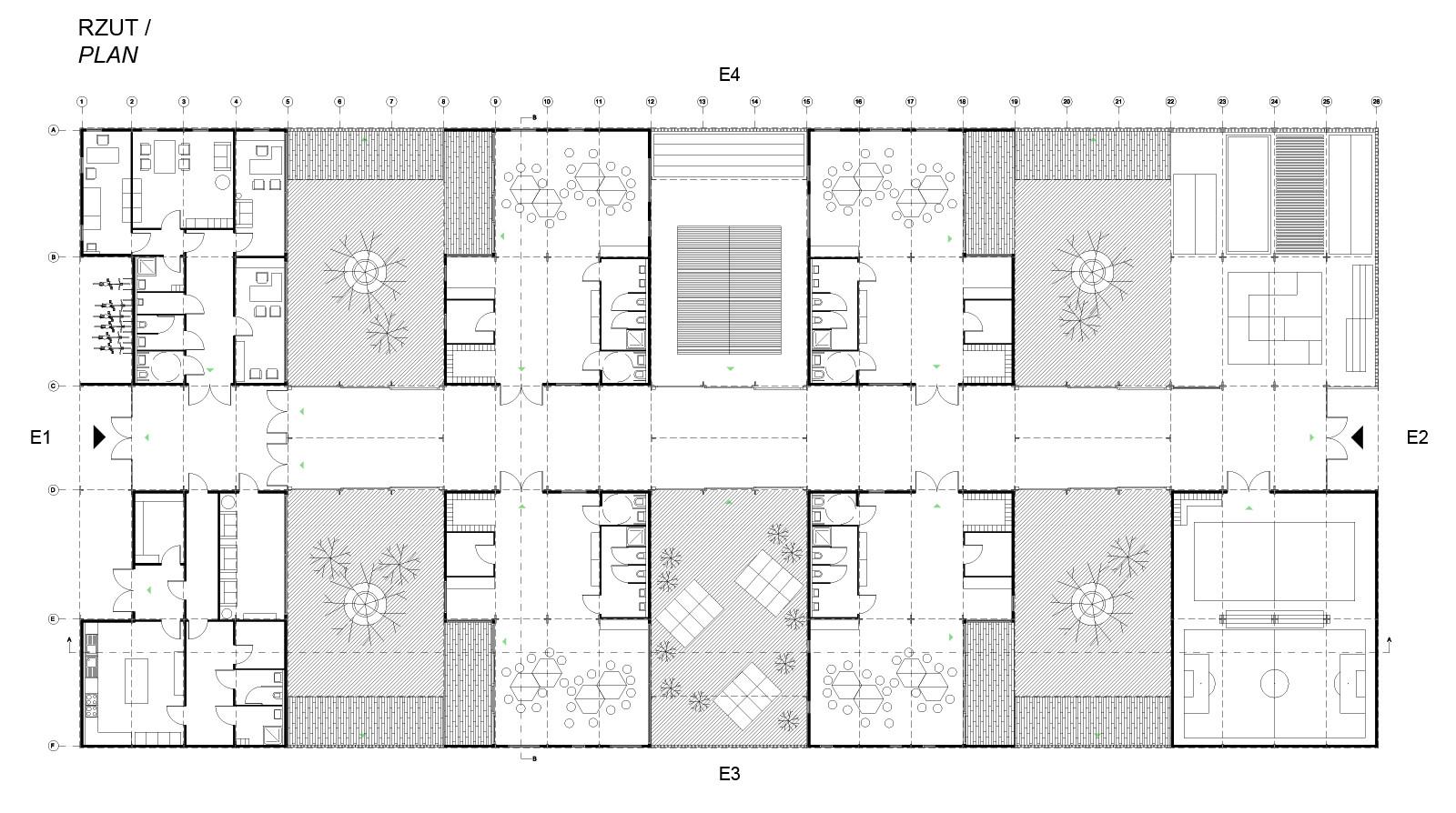 Elevation Floor Plan Gallery Of Kids City Modular Kindergarten Proposal