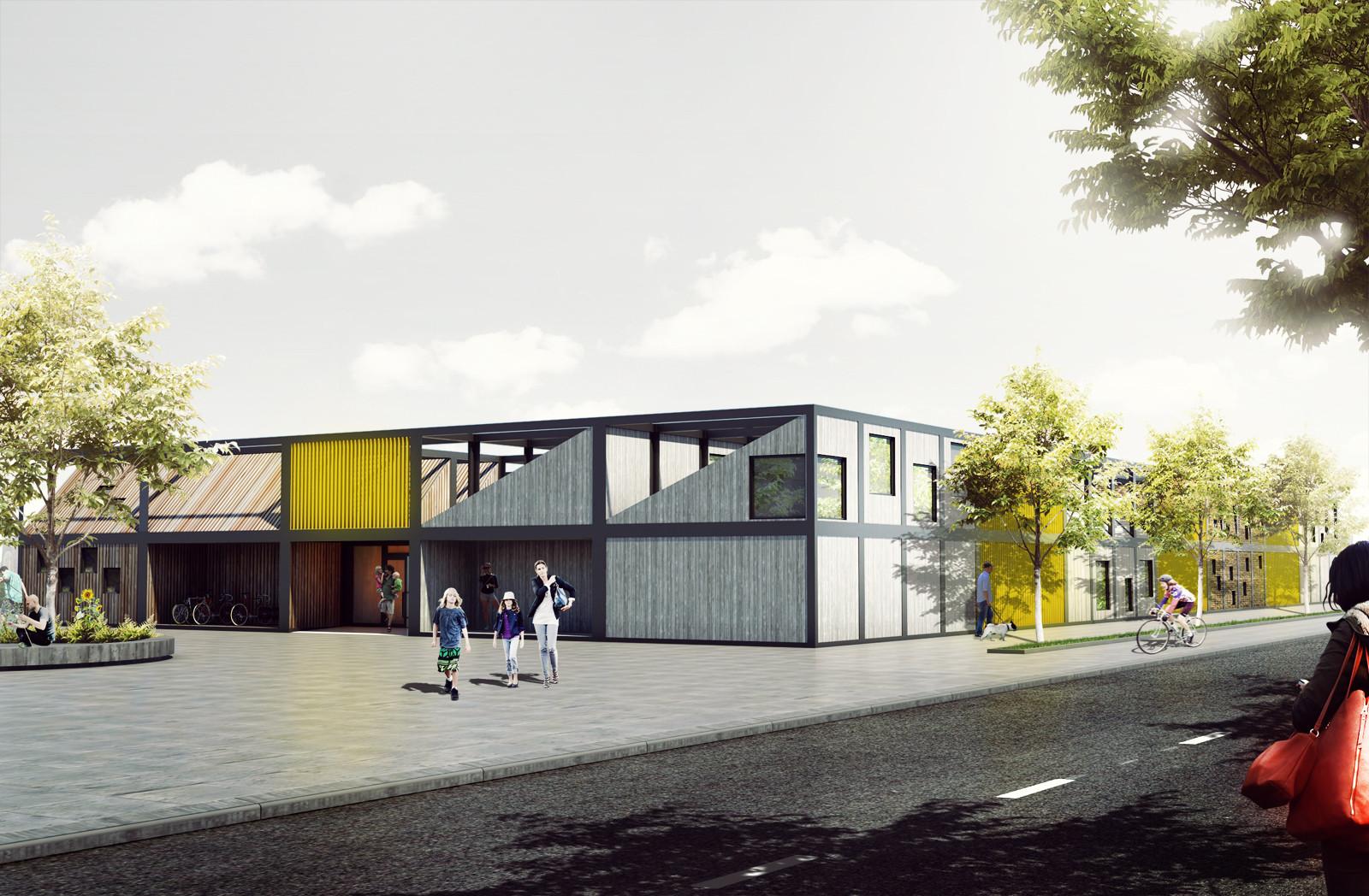 'Kids' City' - Modular Kindergarten Proposal / Adam Wiercinski, Courtesy of Adam Wiercinski