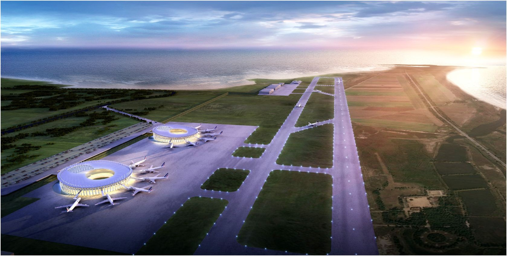 Wonsan International Airport Proposal / PLT, Courtesy of PLT
