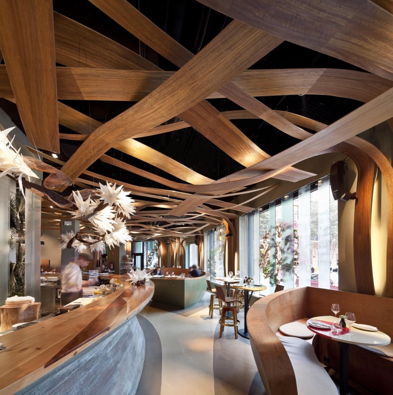 Guarda Muebles En Barcelona : Restaurant ikibana paral el equipo creativo archdaily