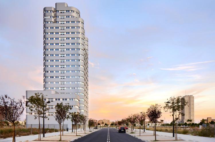 Torre Solar / Ábalos+Sentkiewicz Arquitectos, © José Hevia