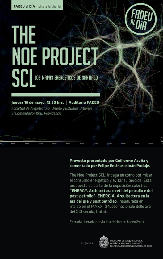 Conferencia: The Noe Project SCL, Los mapas energéticos de Santiago