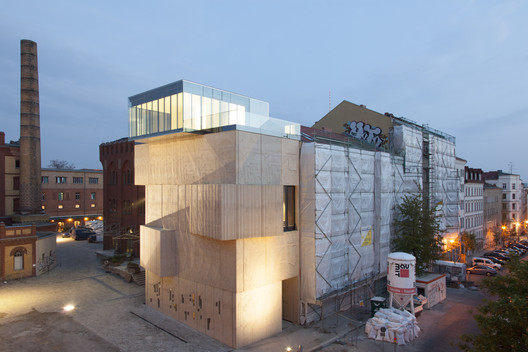 Tchoban Foundation - Museum for Architectural Drawing / SPEECH