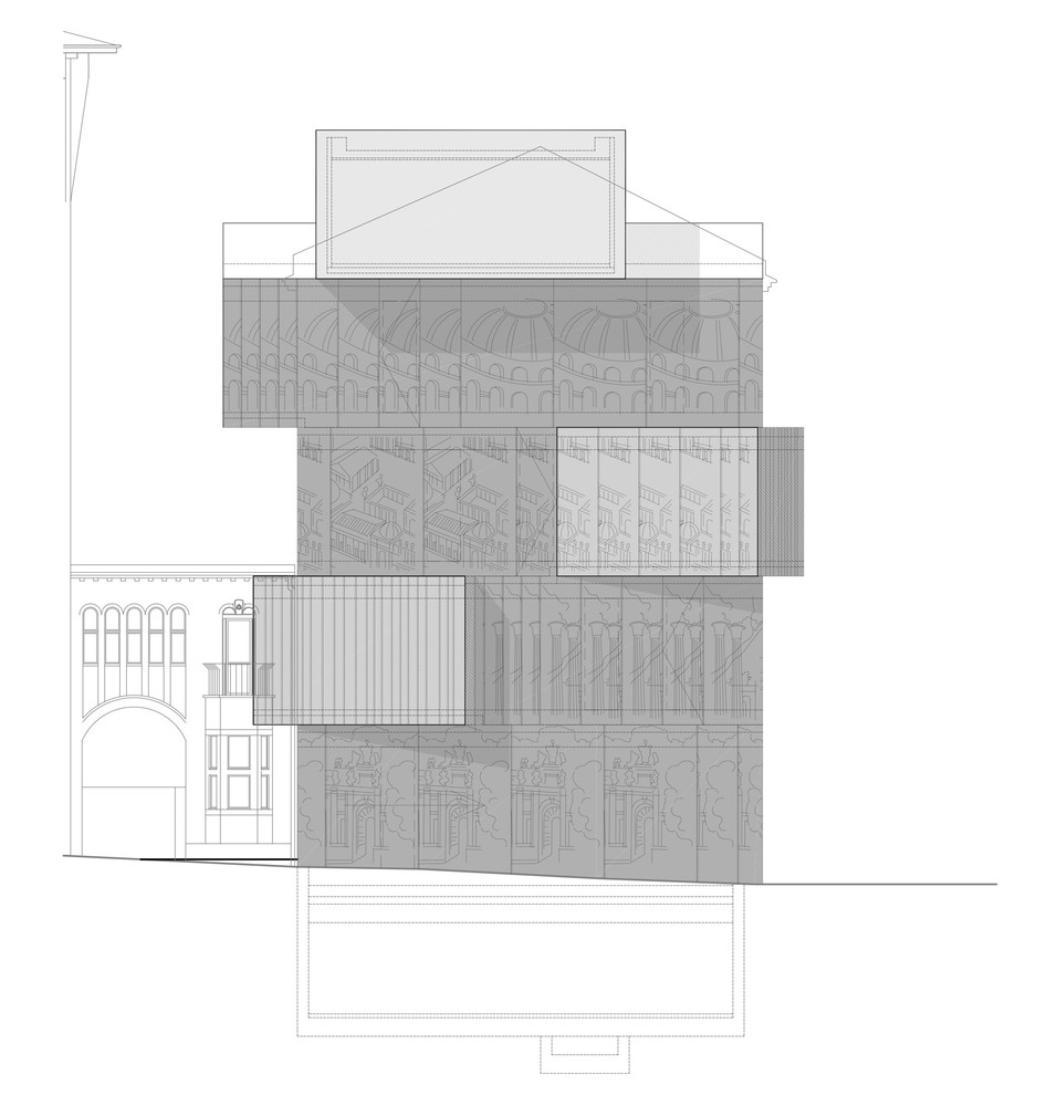 Architectural Drawing Sizes gallery of tchoban foundation - museum for architectural drawing