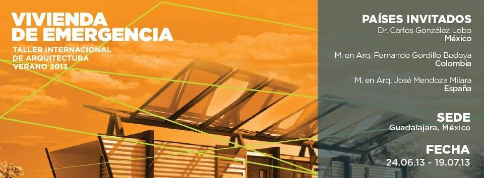 Taller Internacional de Arquitectura Vivienda de Emergencia, Courtesy of ESARQ