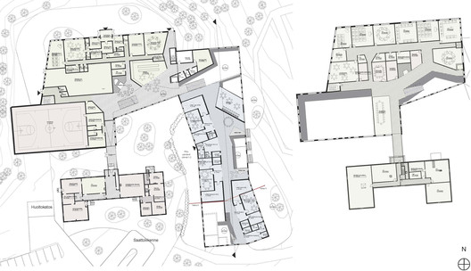 ground and1st floor plans