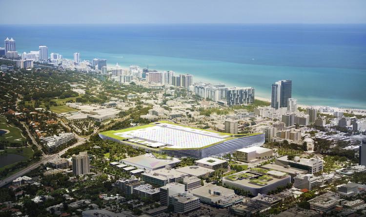 BIG divulga projeto para o Centro de Convenções de Miami Beach, © BIG
