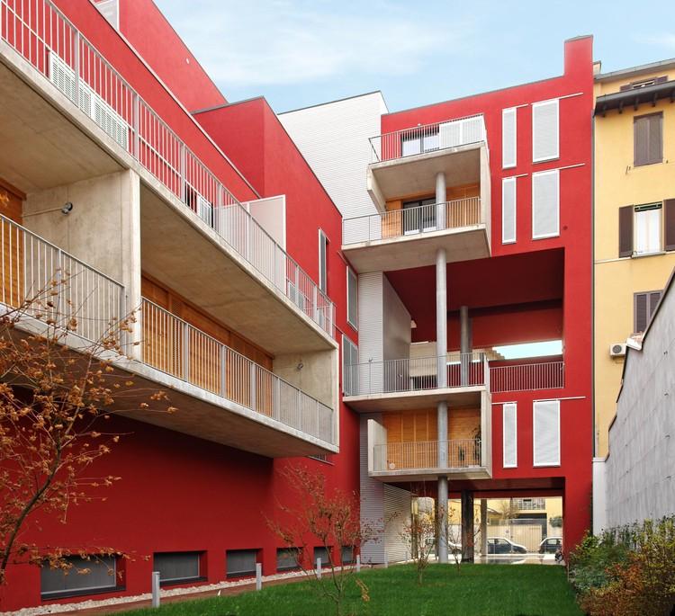 Edificio de Viviendas ERA3 - Eraclito  / LPzR architetti associati, © Gabriele Pranzo-Zaccaria, Chiara Pranzo-Zaccaria