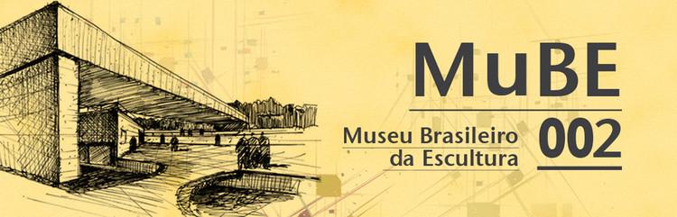 Concurso de Estudantes – Expansão do MuBE, Cortesia de Projetar.org