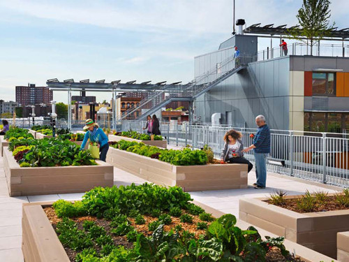 AIA/HUD Secretary Awards Recognize Three Outstanding Housing Projects, Via Verde - The Green Way; Bronx, New York / Dattner Architects and Grimshaw Architects © David Sundberg/Esto