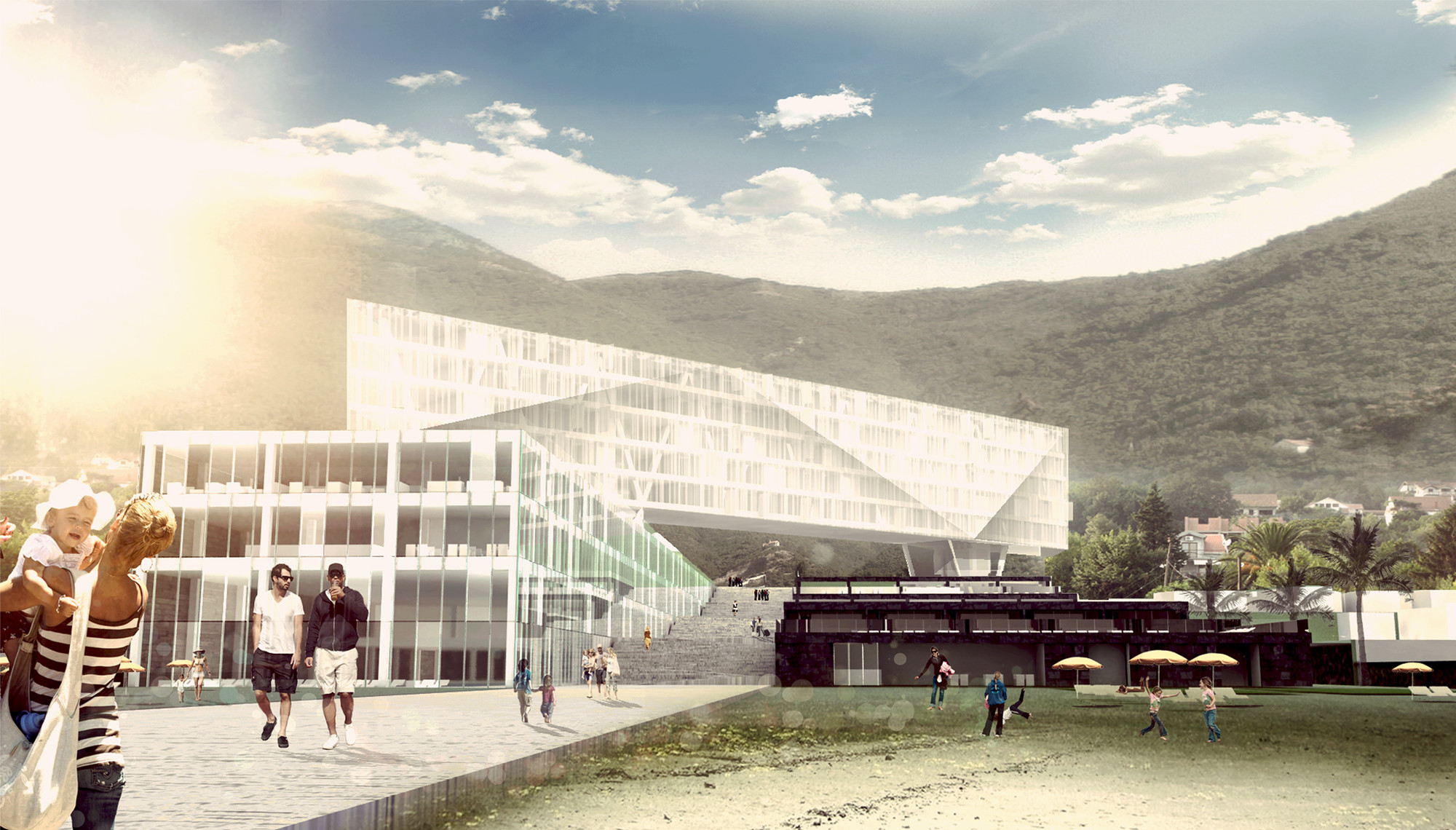Hotel in Montenegro Competition Entry / Kana Arhitekti, Courtesy of Kana Arhitekti