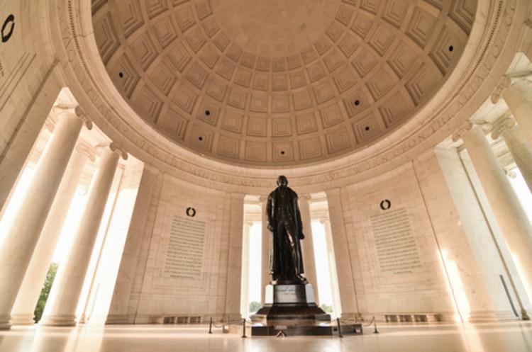 Onde estão os heróis arquitetos?, Imagem do Memorial de Thomas Jefferson