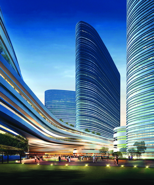 Xuzhou Suning Plaza Proposal / Aedas, Courtesy of Aedas
