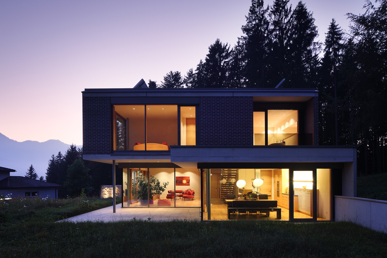 Gallery of house gulm aicher ziviltechniker gmbh 9 for Modern house 6a