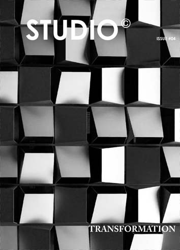 STUDIO Issue #4: TRANSFORMATION, Courtesy of STUDIO Magazine