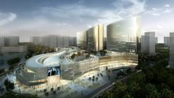 Proposta Vencedora para Planejamento de Uso Misto Xiamen Wu Yuan Wan / Aedas