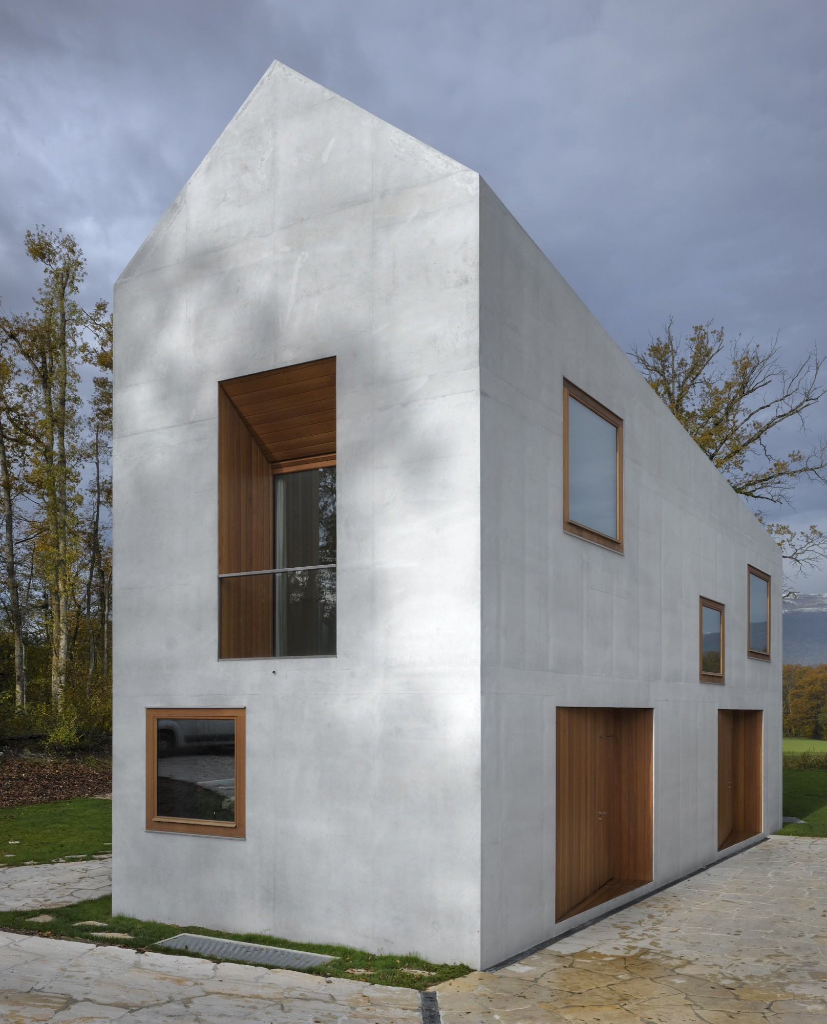 Gallery Of Two In One House Clavienrossier Architectes 12