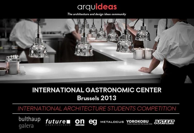 Concurso Internacional de Estudantes – Centro Gastronômico Internacional em Bruxelas, Cortesia de arquideas.net