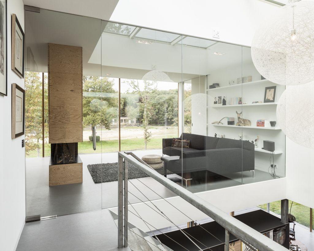 Villa v paul de ruiter architects archdaily for Interieur villa design