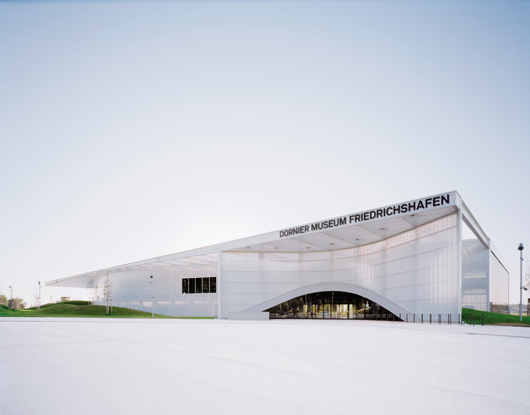 Museo Dornier / Allmann Sattler Wappner Architekten, Cortesía de Allmann Sattler Wappner Architekten