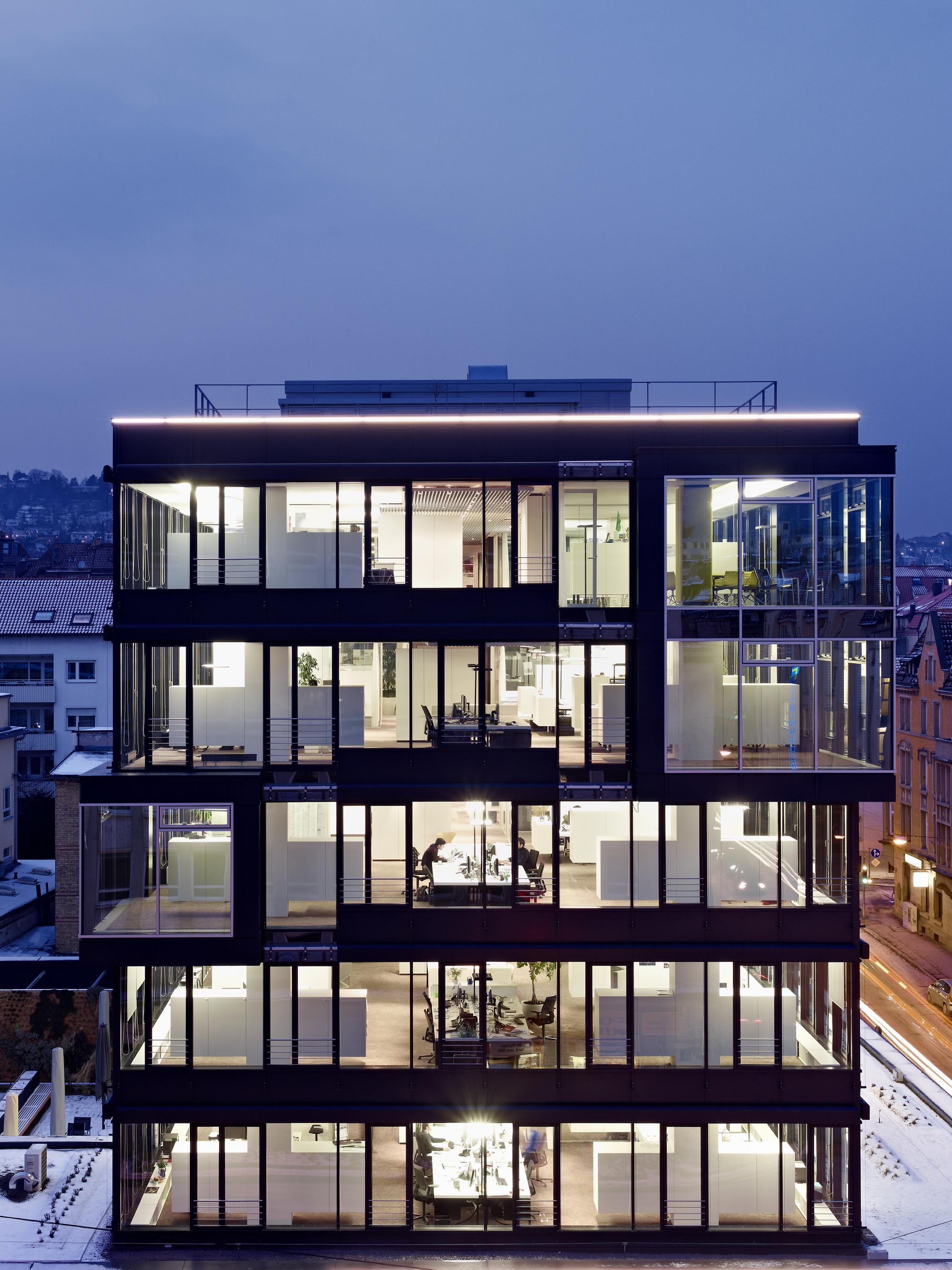 Headquarters schlaich bergermann und partner / Ippolito Fleitz Group GmbH