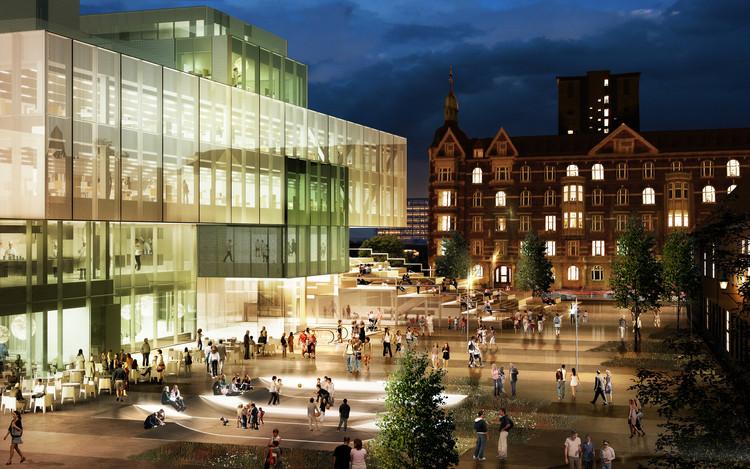Iniciada a Construção do Bryghusprojektet do OMA em Copenhague, Cortesia de  OMA