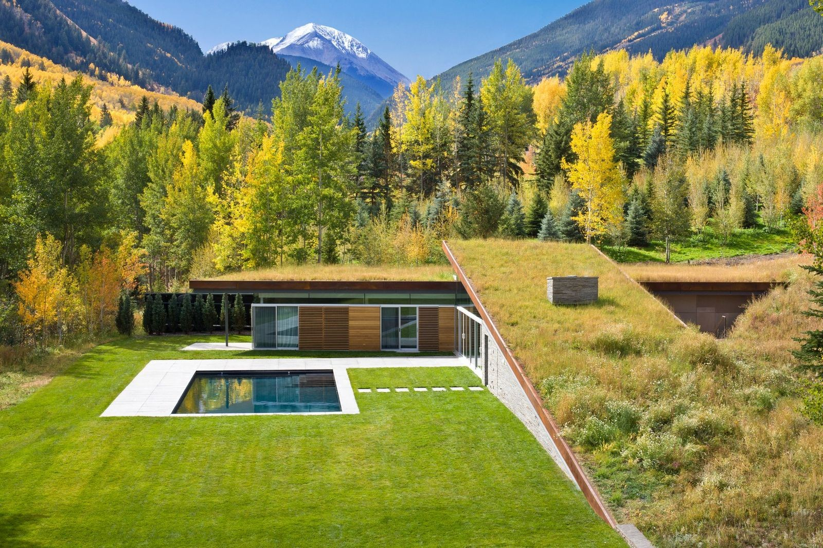 2013 AIA Housing Awards Announced , House in the Mountains; Colorado / GLUCK+ © Steve Mundinger