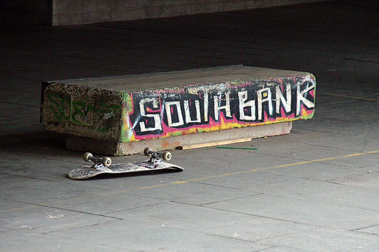 Porque skatistas precisam do Southbank Centre, © joannapoe via Flickr
