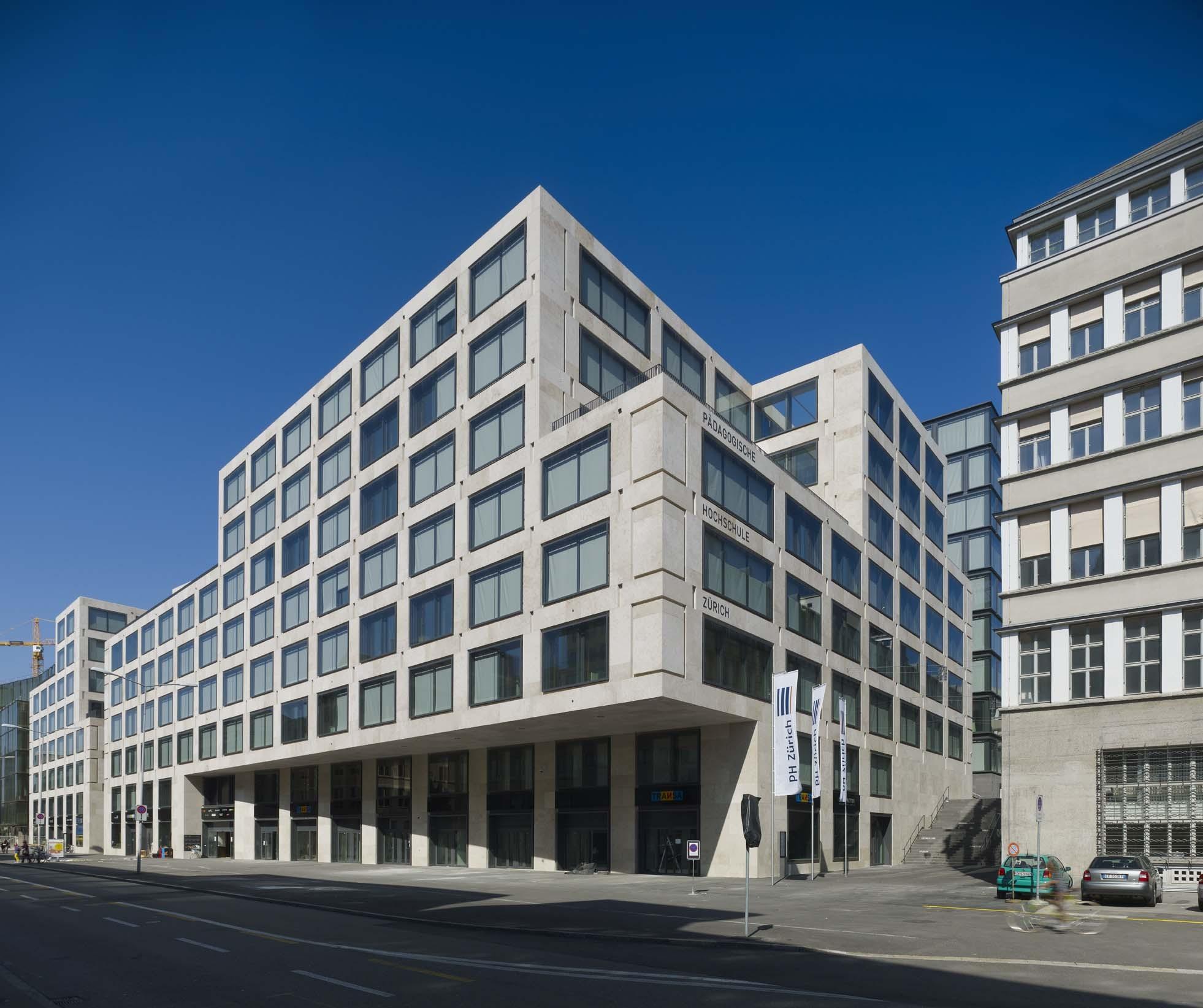 Europaallee zurich max dudler architekt archdaily for Architecture 00